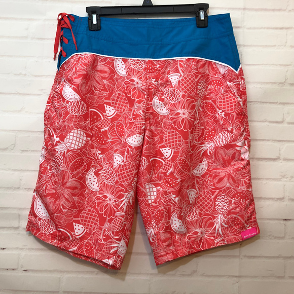 0ff39e4970 Hot Tuna Pants - Hot Tuna Shorts Fruit Floral Print Surf Swim
